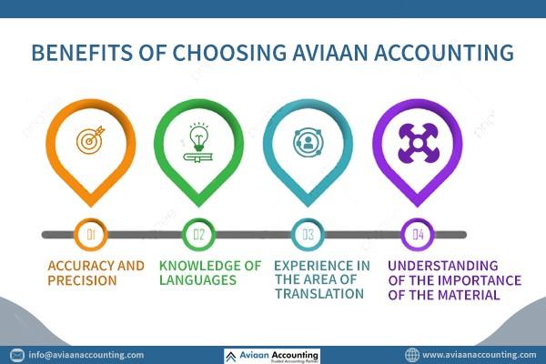 Benefits Of Choosing Aviaan Accounting - Translation