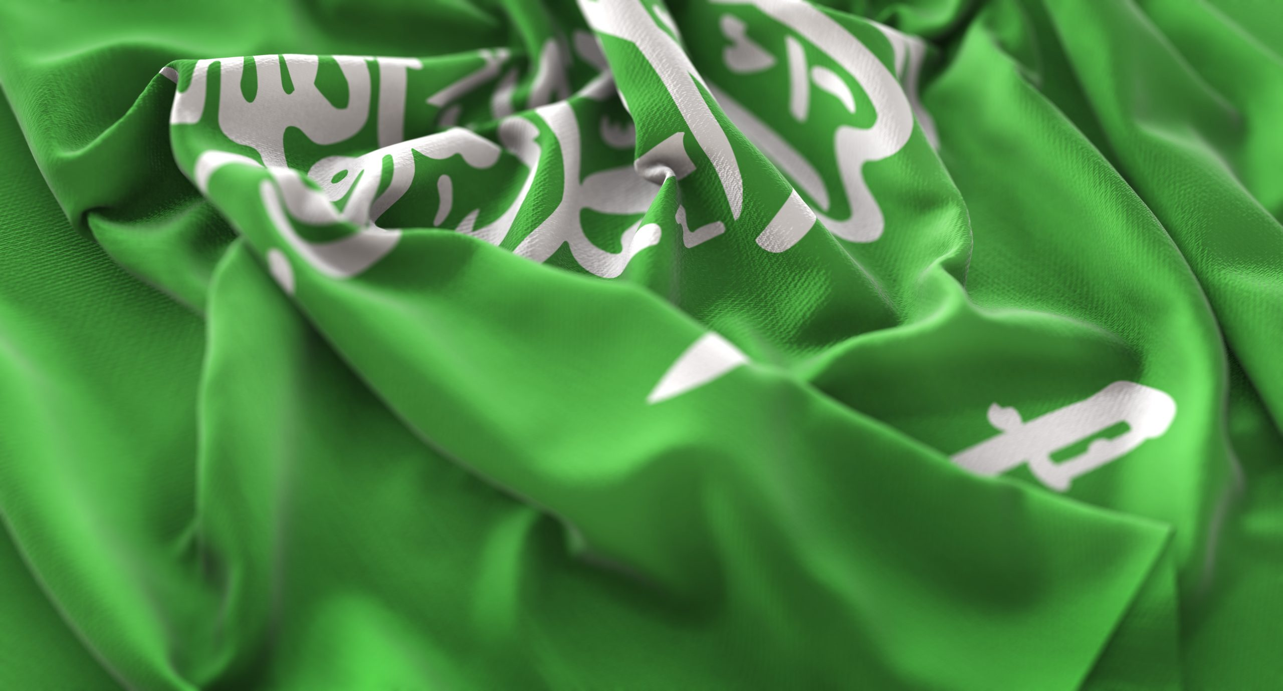 saudi arabia flag ruffled beautifully waving macro close up shot scaled 1 - Home